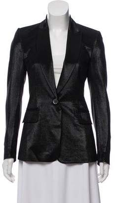 Tamara Mellon Metallic Silk Jacket