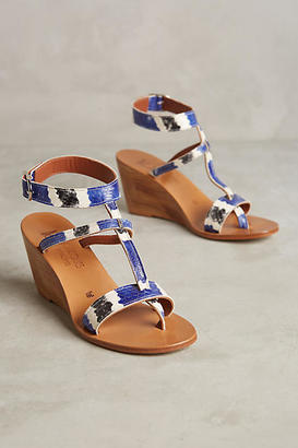 K. Jacques Abysse Wedge Sandals $358 thestylecure.com