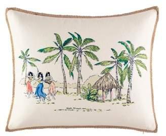 Nine Palms On The Beach Breakfast Pillow
