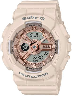 G-Shock BABY-G Ani-Digi Resin Strap Watch, 43mm