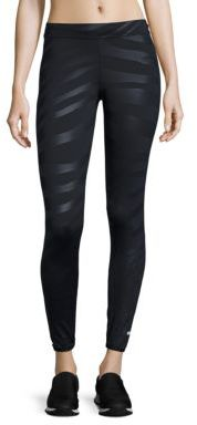 adidas by Stella McCartney Run Zebra Long Tights