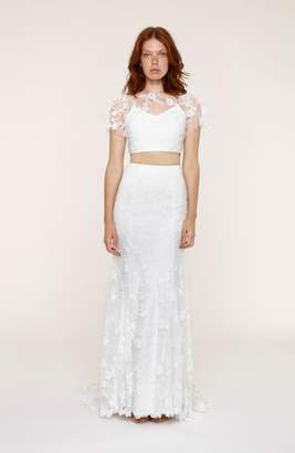 Heartloom Maddie Lace Two-Piece Mermaid Gown