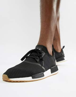 adidas NMD_R1 PK Trainers In Black B42200