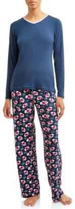 Mayfair Women's ladies Spandex Pajama Set