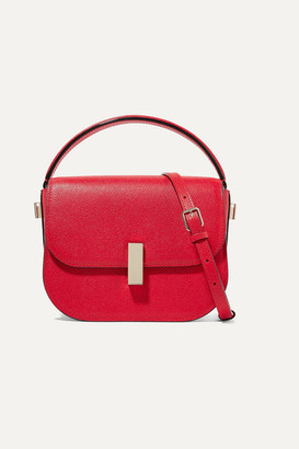 Valextra Iside Textured-leather Shoulder Bag