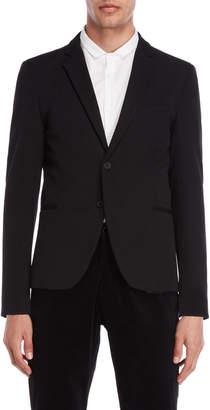 Imperial Star Black Slim Fit Sport Jacket