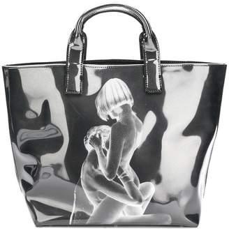 Misbhv printed tote bag