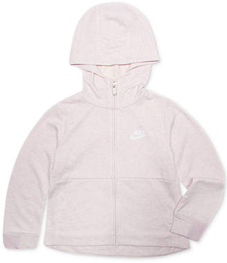 37798ac22f Nike Little Girls Full-Zip Logo Hoodie