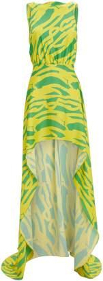 Alexis Rajiya Silk Citrus Printed Dress