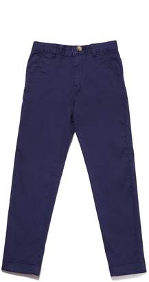 Lacoste Kids Chino pants in colored cotton gabardine