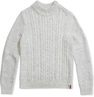 Tommy Hilfiger Adaptive Women Sabrina Turtleneck Sweater With Zipper Closure