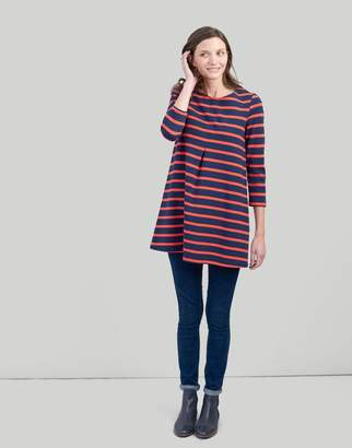 Joules NAVY SPOT Edith A-line Tunic Size 8