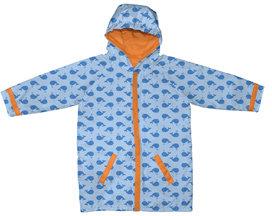 Boy's Raincoat - Blue Whales