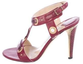 Jimmy Choo Kat Ankle-Strap Sandals