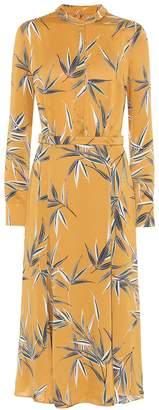 Equipment Sabenne printed satin maxi dress