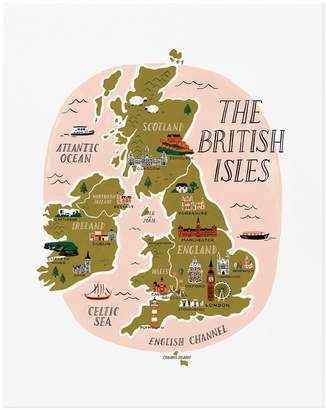 "Rifle Paper Co. British Isle Art Print 8"" x 10"""