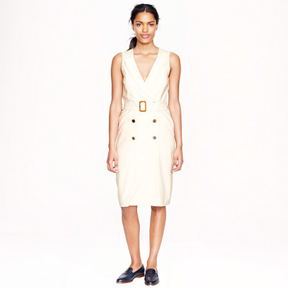 Super Trench dress in 120s