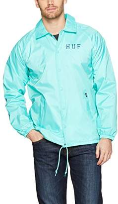 HUF Men's Classic H Coaches Jacket