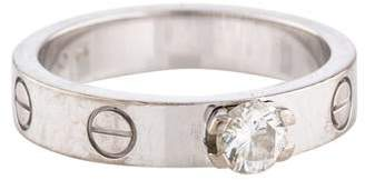 Cartier LOVE Solitaire Engagement Ring