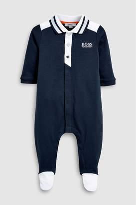 Next Boys BOSS Navy Sleepsuit