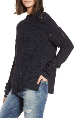 AG Jeans Finn Distressed Sweater