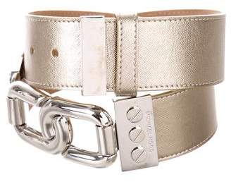 Michael Kors Metallic Waist Belt