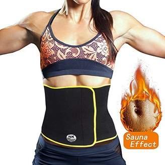0ff63f09df SAYFUT Waist Trimmer Exercise Wrap Belt Slimming Burn Fat Sweat Weight Loss  Body Shaper