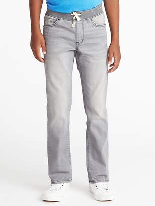 Old Navy Karate Knit-Waist Built-In Flex Max Jeans for Boys