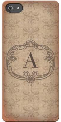 Generic Personalized Vintage Initial I Phone 5 Case