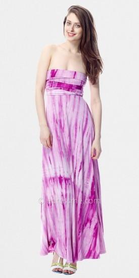 Tie Dye Maxi Dresses by Classique