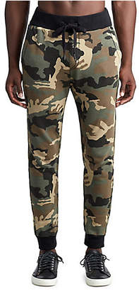 True Religion MENS BIG T CAMO SLIM SWEATPANT