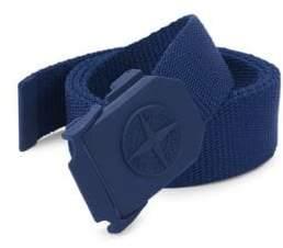 Stone Island Men's Adjustable Textile Belt - Black - Size 95 (38)