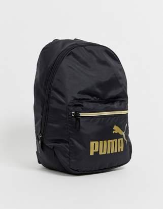 Puma Core Archive mini black backpack