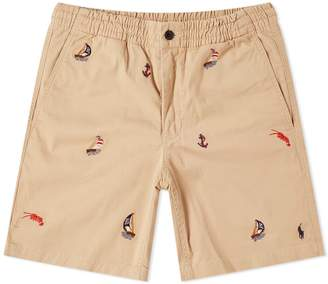 Polo Ralph Lauren Embroidered Chino Short