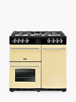 Belling Farmhouse 90DFT Dual Fuel Range Cooker