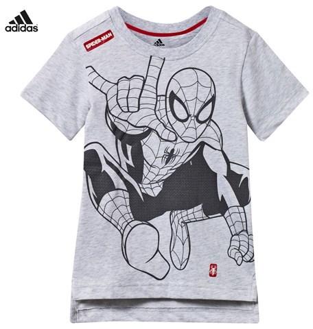 adidas Grey Spiderman Graphic Tee
