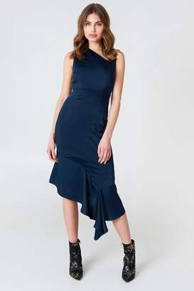 Lavish Alice Asymmetric Midi Dress