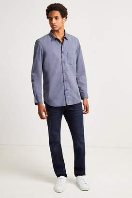 French Connenction Overdyed Cotton Poplin Shirt