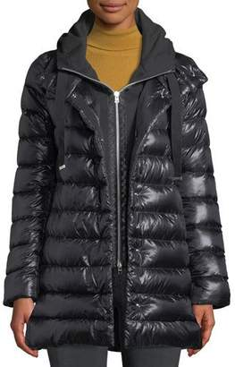 Herno Puffer Coat w/ Removable Fleece Underlay