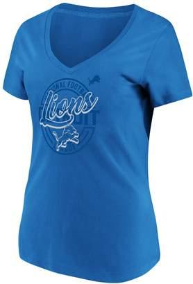 Majestic Women's Detroit Lions Break Free Tee