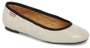 Hunter Quilted Ballet Flat
