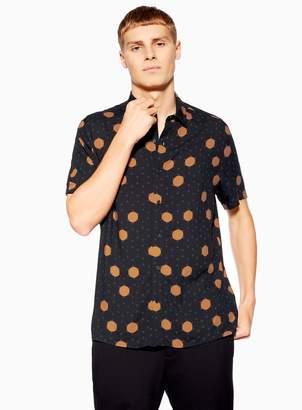 TopmanTopman Random Polka Dot Slim Shirt