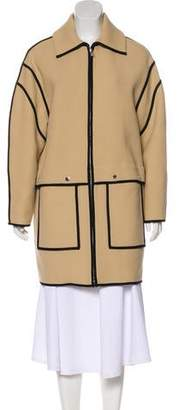 Kenzo Woven Short Coat