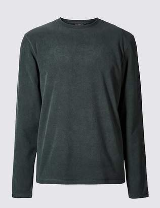 Marks and Spencer Crew Neck Fleece Top