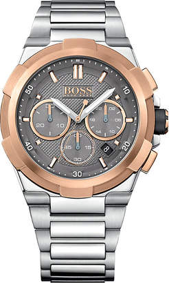 Hugo Boss 1513362 supernova stainless steel watch $410 thestylecure.com