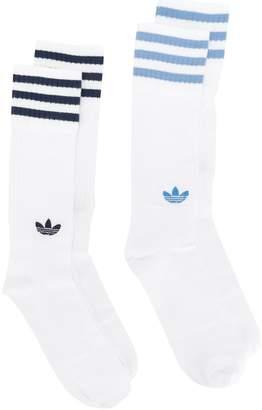 adidas two crew socks set