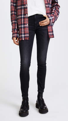 R 13 High Rise Skinny Jeans