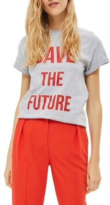 Women's Topshop Save The Future Tee $28 thestylecure.com