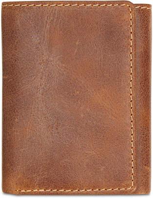 Patricia Nash Men's Leather Tri-Fold Wallet