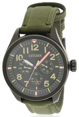 Citizen Eco-Drive Military Nylon Men's Watch BU2055-16E